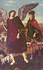 Archangel Gabriel and Tobias