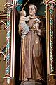 Antonius vu Padua-Statu, Kierch Géisdref-101.jpg