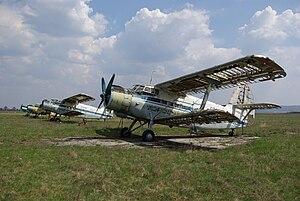 Bălți City Airport - Image: Antonov An 2 099