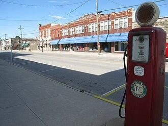 Antwerp, Ohio - Main Street downtown