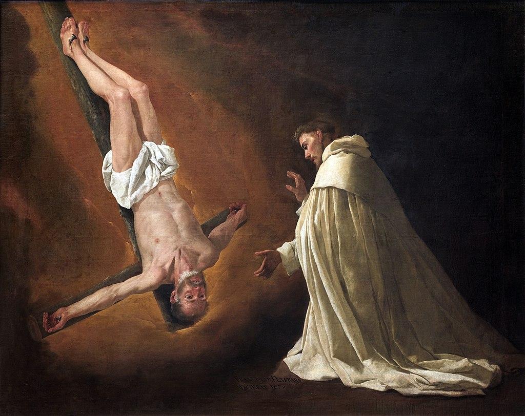 Aparición del apóstol San Pedro a San Pedro Nolasco.jpg