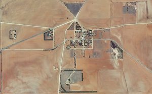 Appila, South Australia - Aerial view of Appila, 2015