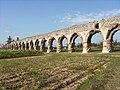 Aqueduc du Gier-Chaponost-Plat de l'Air-Conduite sur arc.JPG