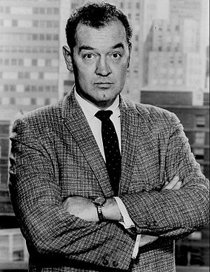 The Asphalt Jungle (TV series) - Arch Johnson in The Asphalt Jungle (1961)