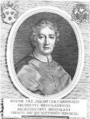 Cardinals created by Innocent XII - Giuseppe Archinto (1651-1712), made a cardinal on November 14, 1699.