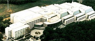 National Archives at College Park - Aerial view of the facility in 1998
