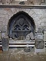 Archway and carved stones, North Choir Aisle, Hexham Abbey - geograph.org.uk - 748679.jpg