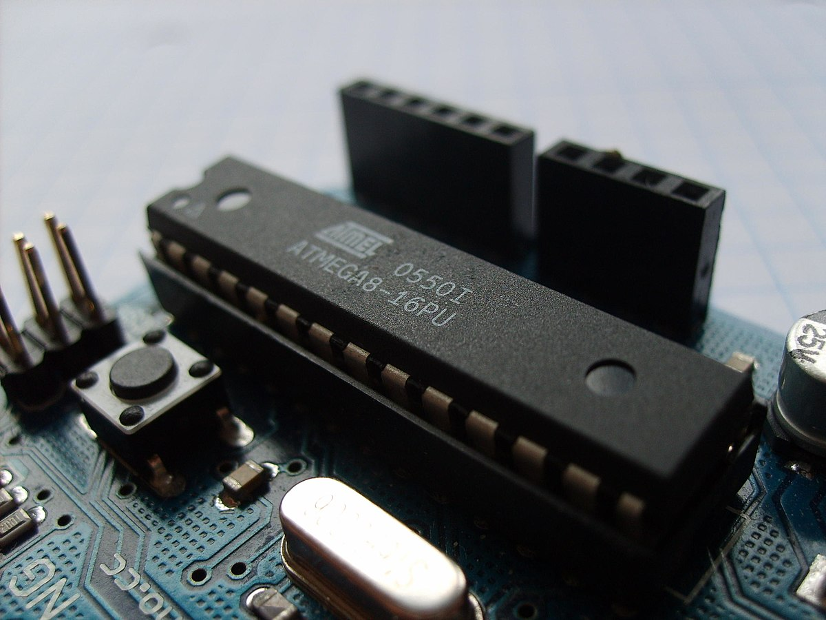 microcontroleur atmel