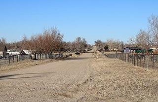 Aristocrat Ranchettes, Colorado Census Designated Place in Colorado, United States
