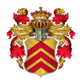 Arms of de Clare, Earls of Hertford and of Gloucester.png