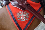 Arms of the City of London on an horse blanket 2011