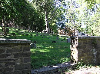 Arney's Mount Friends Meetinghouse and Burial Ground - Burial ground at Arney's Mount Friends Meetinghouse