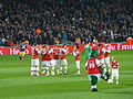 Arsenal players v Swansea - 25 Mar 2014.jpg