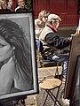 Artista en la Place du Tertre (14617197145).jpg