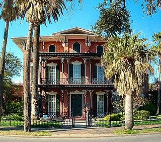 Ashton Villa building in Texas, United States