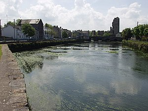 Askeaton - Askeaton Castle and River Deel