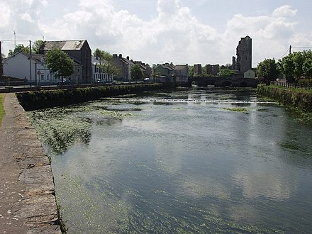 Askeaton Castle and River Deel