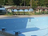 Atat rk swimming complex wikipedia for Semi olympic swimming pool size