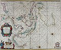 Atlas maritimus, or A book of charts - Describeing the sea coasts capes headlands sands shoals rocks and dangers the bayes roads harbors rivers and ports, in most of the knowne parts of the world. (14566801659).jpg
