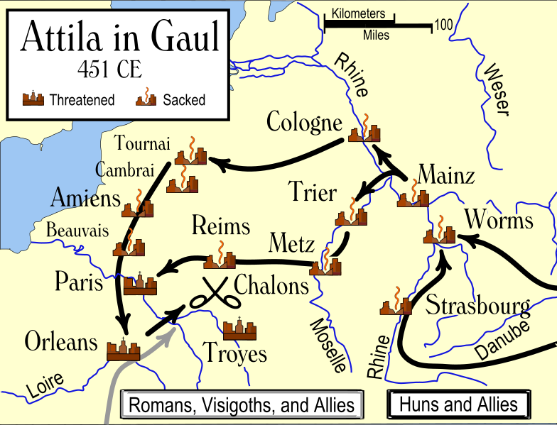File:Attila in Gaul 451CE.svg