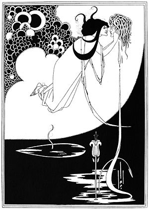 The Climax (illustration) - Image: Aubrey Beardsley The Climax