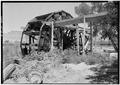 August, 1971. DT FROM SE. - Irrigation Water Wheel, Hastings Ranch, Green River, Emery County, UT HAER UTAH,10-GRENRI,1-3.tif