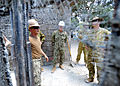 Australian Army officers tour a construction site at a school during Balikatan 2013 in Looc, Philippines, April 6, 2013 130406-N-VN372-147.jpg