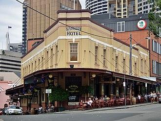 Australian Hotel - The Australian Hotel in 2014