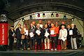 Auszeichnung für die Deutsche Olympische Gesellschaft auf der ffn-Bühne während des TUI Hannover-Marathons 2012.jpg