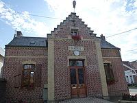 Autingues (Pas-de-Calais) mairie.JPG
