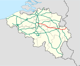 Image illustrative de l'article Autoroute belge A3