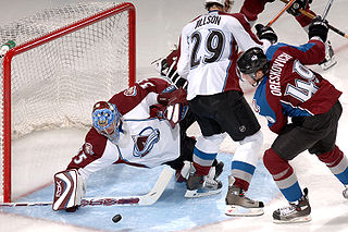 Save (goaltender) The act of a goaltender of stopping the playing object from entering the goal.