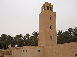 Ouled Majed mosque in Degache
