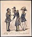 Axevalla läger juli 1849. Munck, general C. G. Löwenhjelm, Hugo Hamilton - Nordiska museet - NMA.0037352.jpg