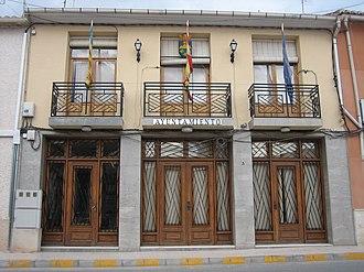 Algueña - Town Hall of Algueña.