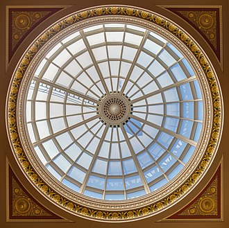 John Taylor (architect) - Dome of the entrance hall of the National Gallery, in London, designed by John Taylor.