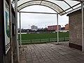 Břeclav, fotbalový stadion, vchod.JPG