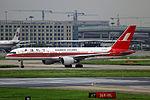 B-2858 - Shanghai Airlines - Boeing 757-26D - SHA (10139122014).jpg