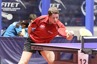Anne Barnéoud French para table tennis player