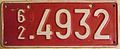 BELGIUM 1962 -TEMPORARY PLATE - Flickr - woody1778a.jpg
