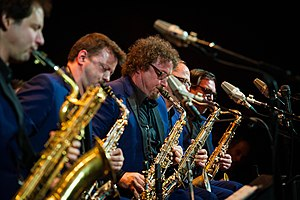 Brussels Jazz Orchestra - BJO in Jazz at Lincoln Center, New York March 2015