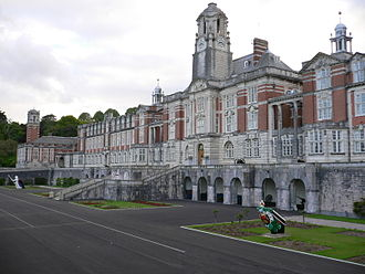 Officer (armed forces) - The Royal Navy officer training academy Britannia Royal Naval College at Dartmouth