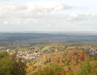 Harzburg - View from the Großer Burgberg