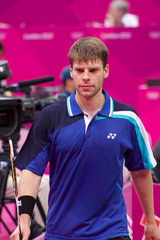Michael Fuchs (badminton) - Image: Badminton at the 2012 Summer Olympics 9327