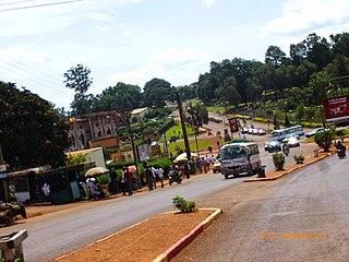 Bafoussam Communauté Urbaine in West, Cameroon