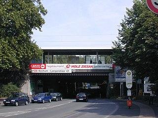 Bochum-Langendreer station Rhine-Ruhr S-Bahn station