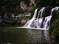 Baikunthadham waterfall, Madi.jpg