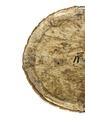 Baksida med vaxatpapper på medaljong, 1600-tal - Livrustkammaren - 108151.tif