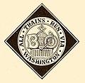 BanO logo Royal Blue Line ad 1896.jpg