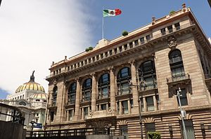 Bank of Mexico - Image: Banco de México & INBA